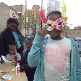 Making carnival masks